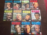 Retro Star Trek magazines