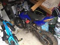 125 pit bike stomp
