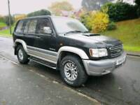ISUZU TROOPER 7 SEATER CREAM LEATHER AUTOMATIC