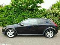 2008 VOLVO C30 SPORT LUXURY D5 180 *LEATHER* CLIMATE* CRUISE* 6 SPEED FORD FOCUS