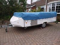 WANTED ANY TYPE OF FOLDING CAMPER OR TRAILER TENT