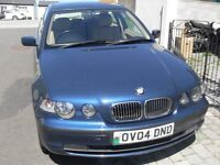 BMW 316ti Compact hatchback. Nice clean car with new MOT