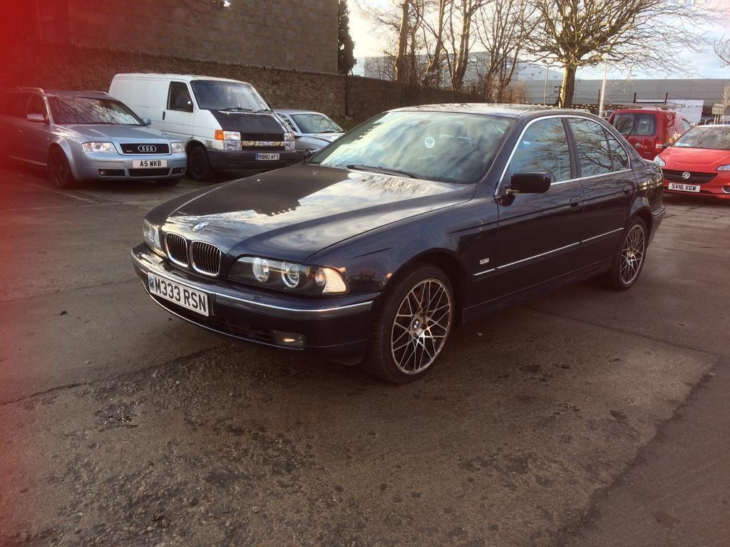 BMW 535i V8 240 bhp.E39 Private Plate