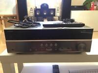 Yamaha rx v377 5.1ch av receiver/amp