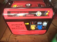 Petrol Generator never used brand new condition