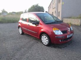 RENAULT MODUS EXPRESSION *** ONLY 28900 MILES *** 6 MONTHS MOT ***