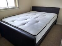 Double Bed cot and Mattress