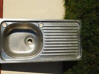 STAINLESS STEEL SINK SUITABLE FOR TACK ROOM