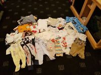 Large baby boys clothes bundle over 80 items