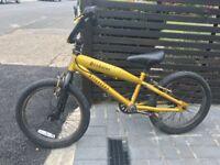 "Kids Predator Sliverfox BMX Bike 18"". Close to free."