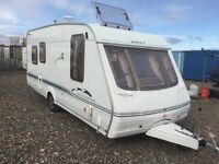 Swift challenger 490se 5 berth 2004-3 full awning cassette toilet shower hot and cold running water