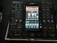 pioneer svm1000 svm 1000 video audio mixer with swan flight case vgc