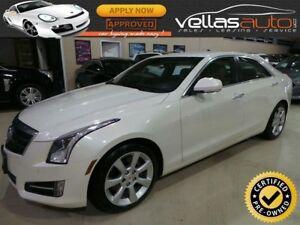 2013 Cadillac ATS 2.0L Turbo 2.0T  NAVI  6SPEED  PEARL WHITE