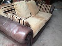 Sofas x2 matching