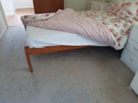 Single Pine Bed