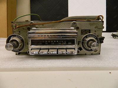Used Original 1960 Oldsmobile Wonder Bar Radio Core Dated 39th week of 1959