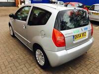 Citroen C2 SX,2004, 1.2 ltr,Petrol, FULL ONE YEAR MOT, GREAT RUNNER, MANUAL,3DOOR HATCHBACK!