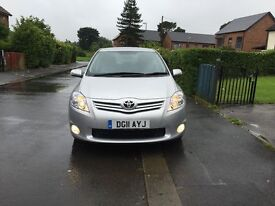 toyot auris 1.6L with ful serice history