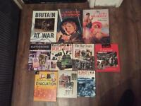 War books and DVD's (some still sealed)