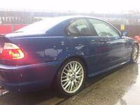 RARE BMW 330Ci M SPORT MANUAL! 231 BHP M SUADE SEATS 12 MNTHS MOT! MSPOILERS M EXTRAS 18 INCH ALLOYS