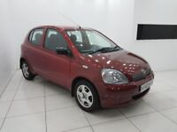 TOYOTA YARIS 1.3 VVT-i 16v GLS 5dr-12 MONTH MOT-LOW MILEAGE-FULL HISTORY-£0 DEPOSIT FINANCE