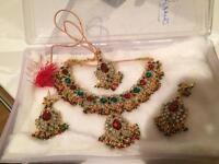 Bollywood necklace set