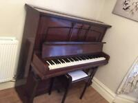 Berkeley London piano with stool
