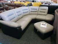 DFS Sofas. Fabric, leather, corners, recliners