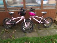 NE15 AREA Dulcis Free Style Avigo Children's Pink Bicycle, Sports Bike, EX CON