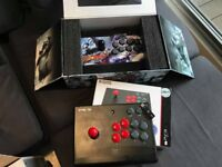 (£90 For BOTH) MadCatz PS3 PC SFxT Arcade FightStick Pro + Hori Wireless Fighting Stick 3 (PS3)