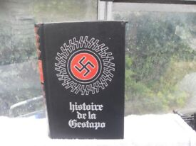 rare book history of the gestapo in French