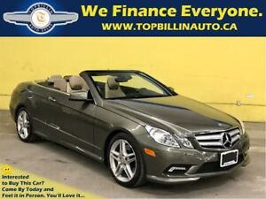 2011 Mercedes-Benz E-Class E550 Convertible, Only 58K kms