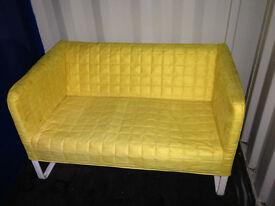 Free IKEA Yellow Fabric Two-seater