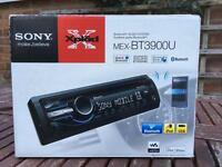 Sony car stereo mp3 usb Bluetooth ipod