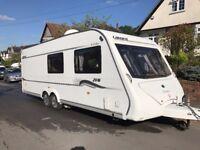 Elddis Liberte 21/6 Caravan (Avante 626 Special) Motor Mover Bunk Beds and Fixed Double Bed Sleeps 6