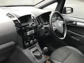 2008 (May 08) VAUXHALL ZAFIRA 1.8 DESIGN - MPV 5 Doors - Petrol - Manual - BLUE *MOT/LEATHER/7 SEATS