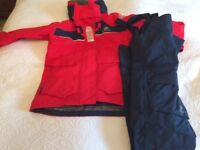Ladies Henry Lloyd Cruiser Jacket and Trousers Brand new