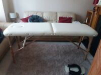Portable massage couch