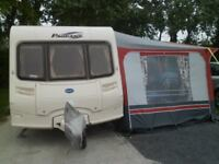 Bailey 2005 pageant provence (5 berth) with full awning