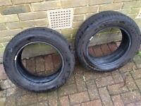 Michelin 195/60/R15 Tyre x2