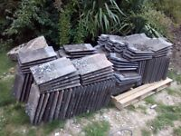 Delta roof tiles for sale. 130 used tiles