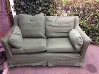 Free 2 seater sofa, needs taking before the 18th!