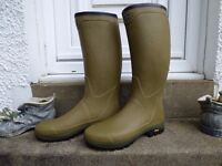 2 Pairs of Le Chameau size UK 11 Wellington Boots