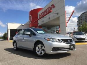 2015 Honda Civic LX - ACCIDENT-FREE, CERTIFIED PRE-OWNED