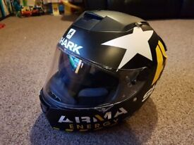 Shark SPEED-R Redding Motorcycle Helmet - Large - Clear and black visor