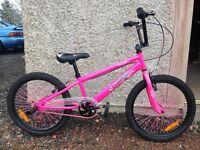 Urban Culture Pink BMX Bike