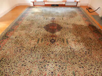 Grosvenor Worsted Wilton Persian Rug VERY LARGE 19'6 X 12'