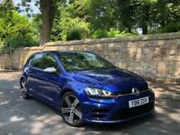 VOLKSWAGEN GOLF R DSG 2016 5 DOOR GENUINE LOW MILEAGE LAPIZ BLUE PART EX