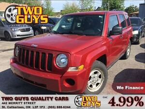 2009 Jeep Patriot Sport/North NICE LOCAL TRADE IN COMING SOON!!!
