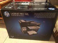Laserjet pro 100 printer